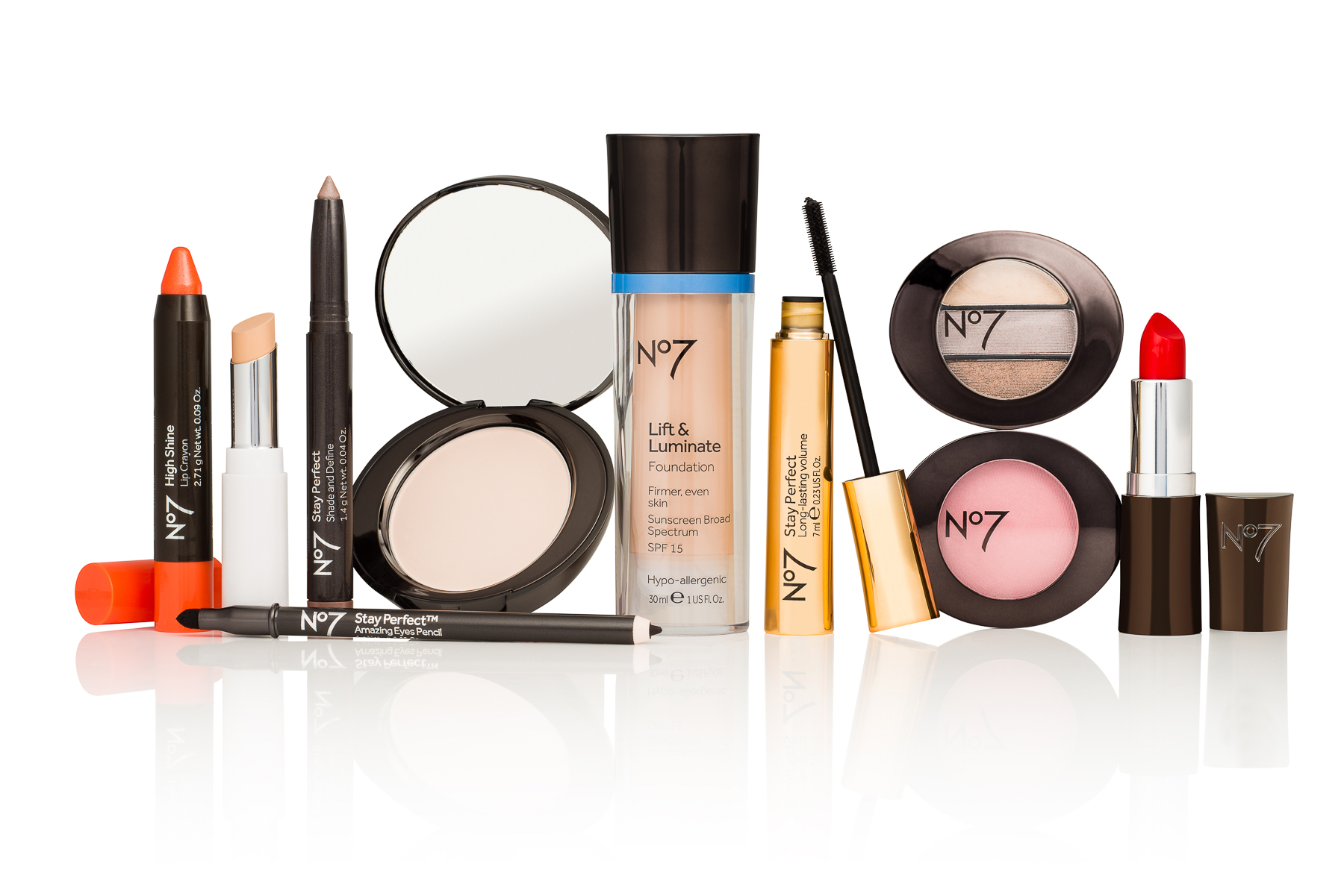 No7 Cosmetics Photography