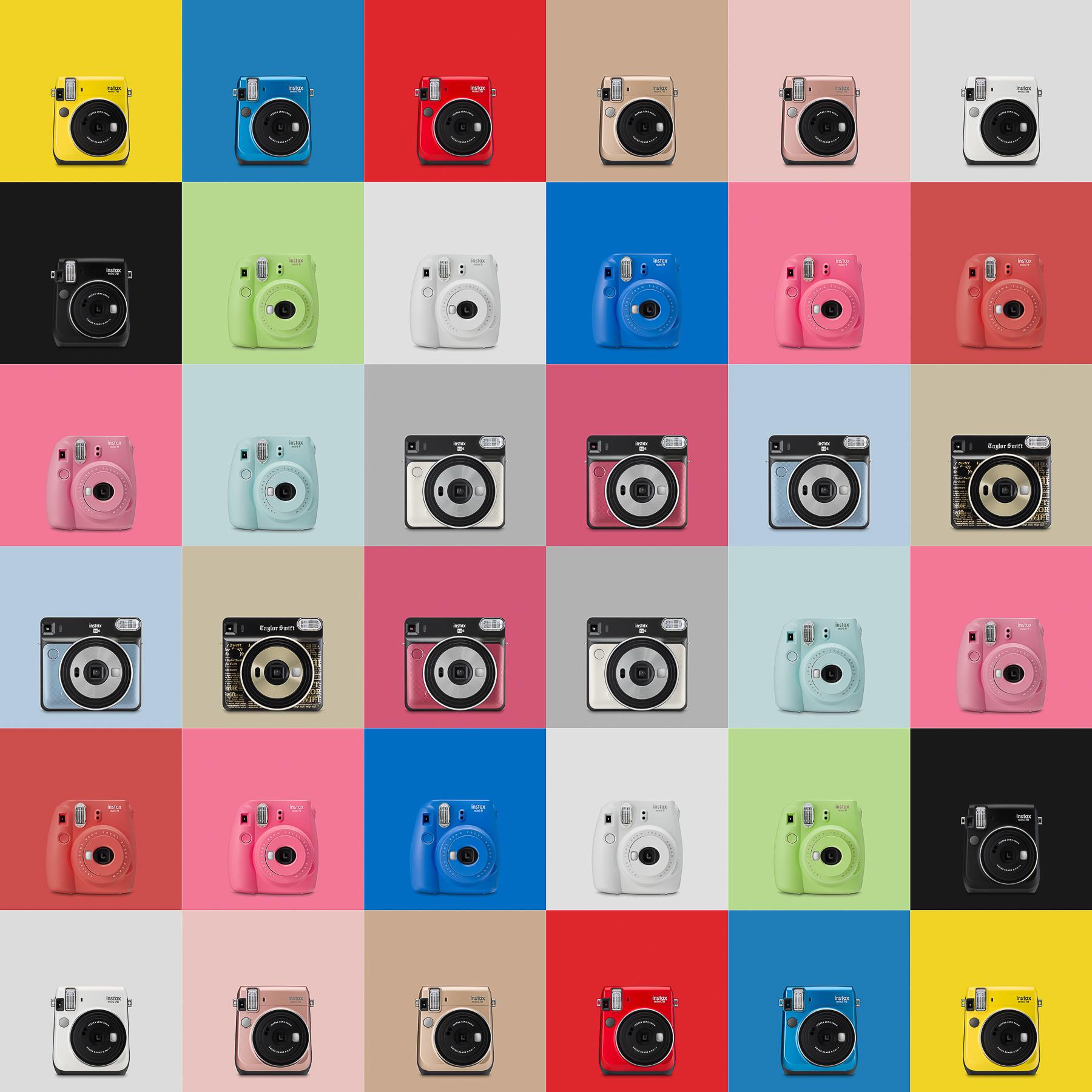 Fujifilm Instax Colour Photography