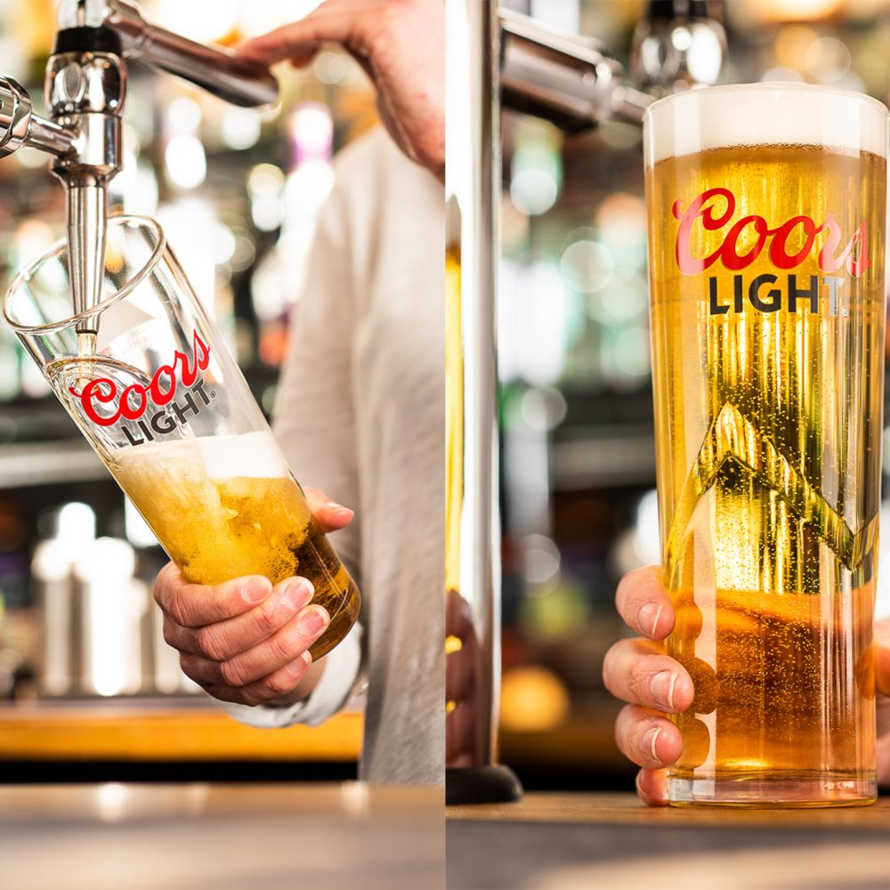 Coors Light lifestyle photography for Molson Coors