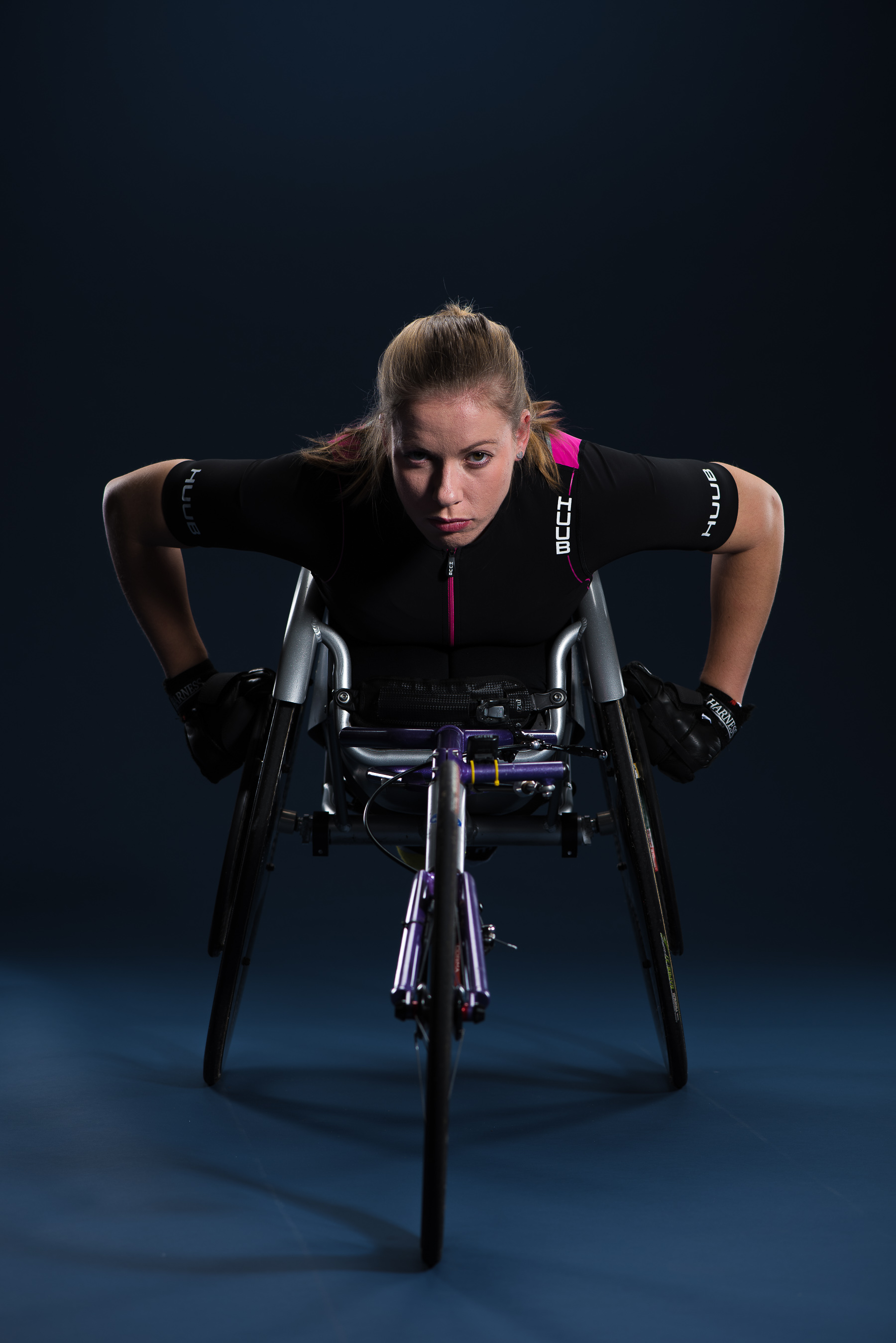 Hannah Cockcroft paralympic athlete photographed by Cactus Images