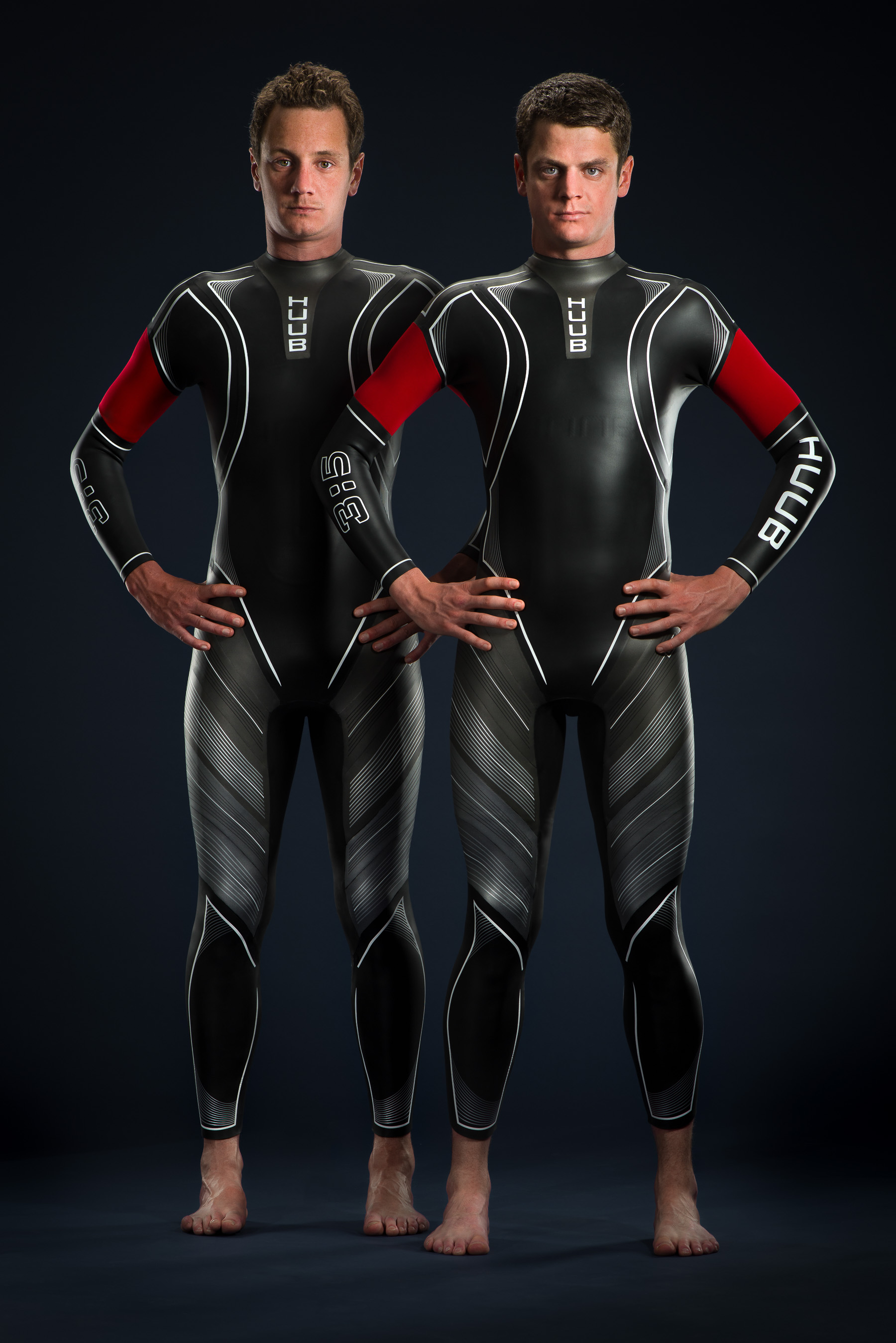 The Brownlee brothers, Alistair and Jonathan photographed by Cactus Images